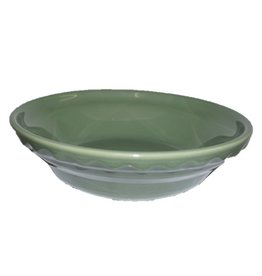 "Small Pie Baker 6 3/8"" Sage"