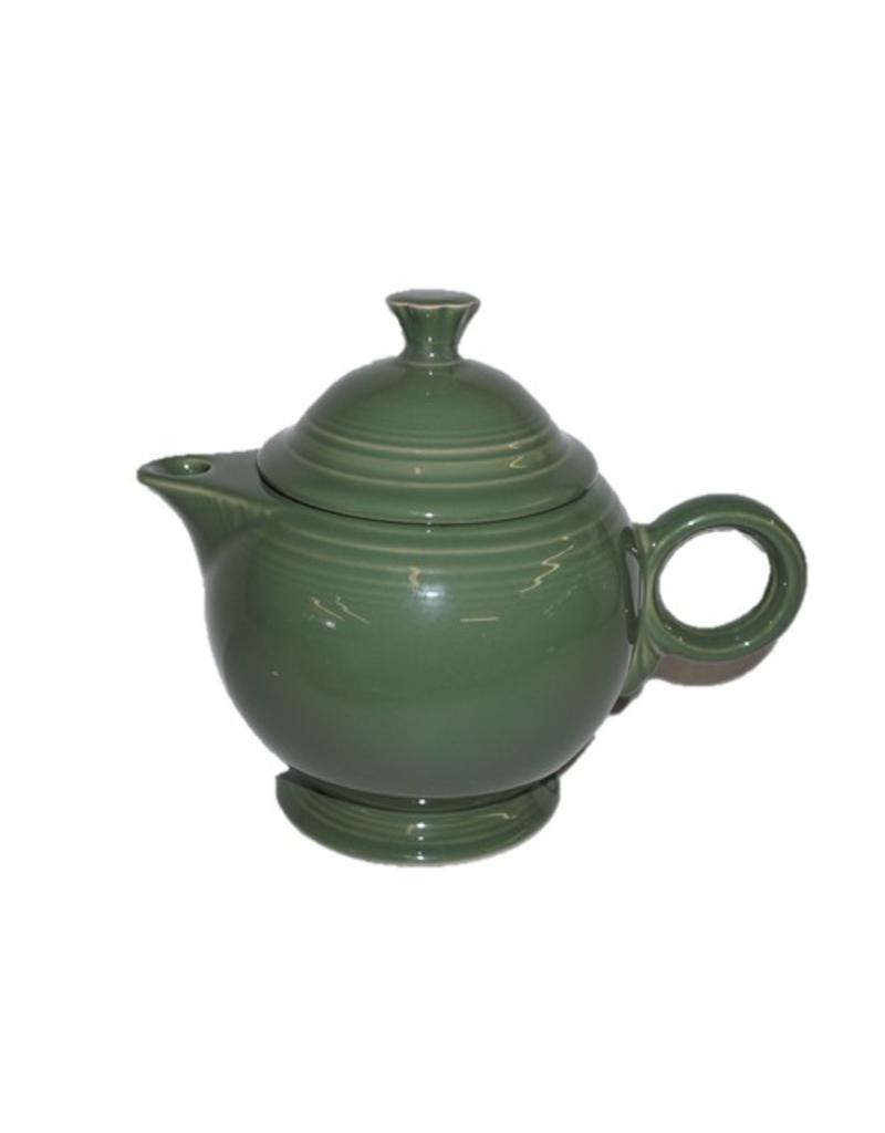Covered Teapot Sage