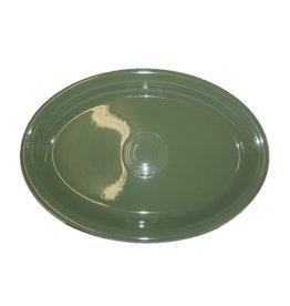 """Extra Large Oval Platter 19 1/4"""" Sage"""