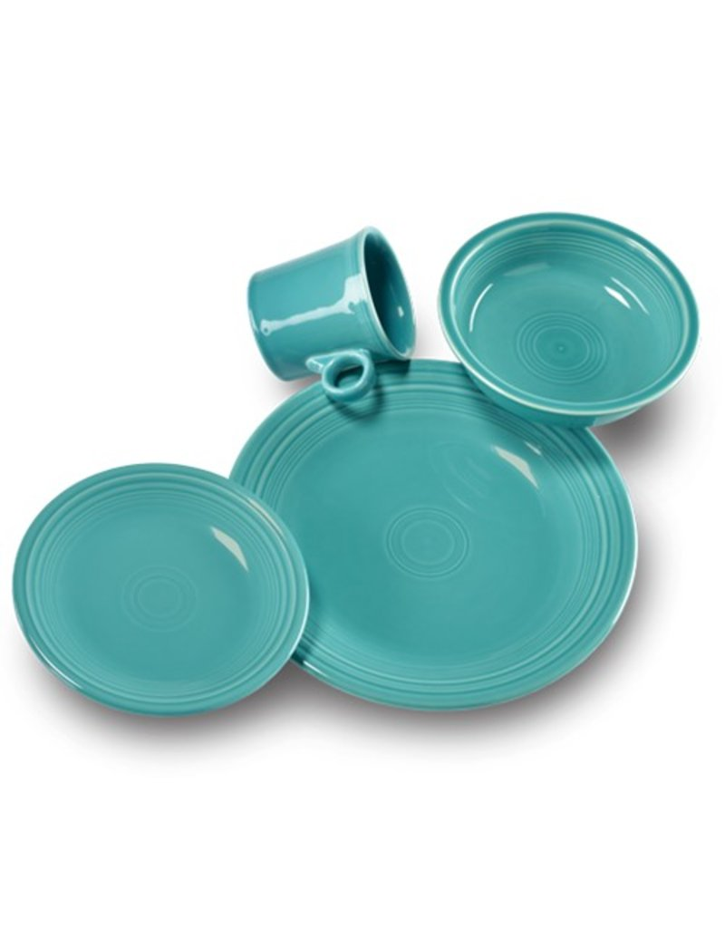 4 Piece Place Setting Turquoise