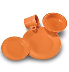 4 Piece Place Setting Tangerine