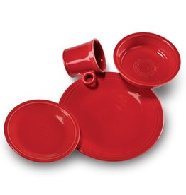 4 Piece Place Setting Scarlet