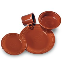 4 Piece Place Setting Paprika