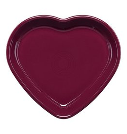 Large Heart Bowl 26 oz Claret