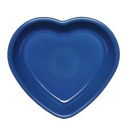 Large Heart Bowl 26 oz Lapis
