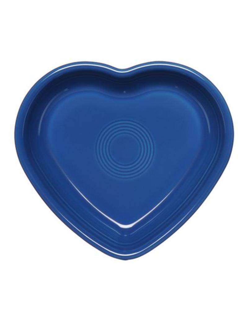 Large Heart Bowl 26 oz Lapis