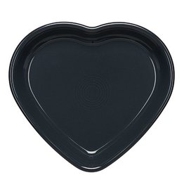 Large Heart Bowl 26 oz Slate