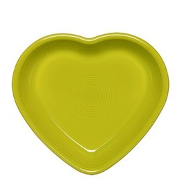Large Heart Bowl 26 oz Lemongrass