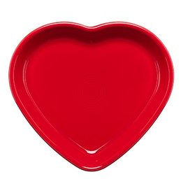 Large Heart Bowl 26 oz Scarlet