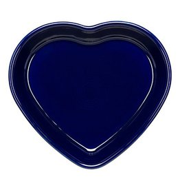Large Heart Bowl 26 oz Cobalt Blue