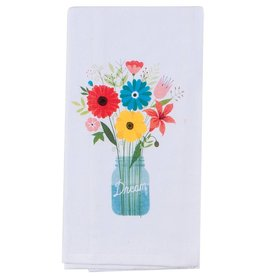Flower Shower Flour Sack Towel