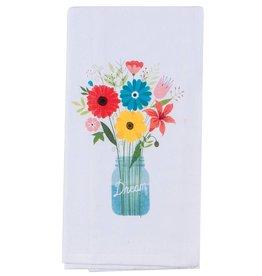 Flower Shower Flour Sack Towel