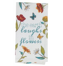 Spice Beauty Flowers Flour Sack Towel