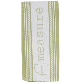 Cookery Measure Jacquard Tea Towel