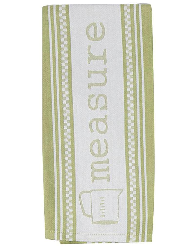 Cookery Measure Jacquard Tea Towel