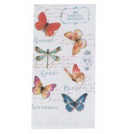MGJ Butterfly Garden Flour Sack Towel