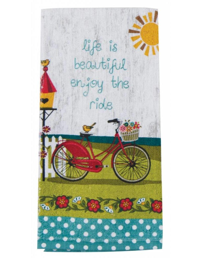 Enjoy The Ride Terry Towel