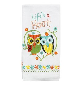 Lifes A Hoot Terry Towel