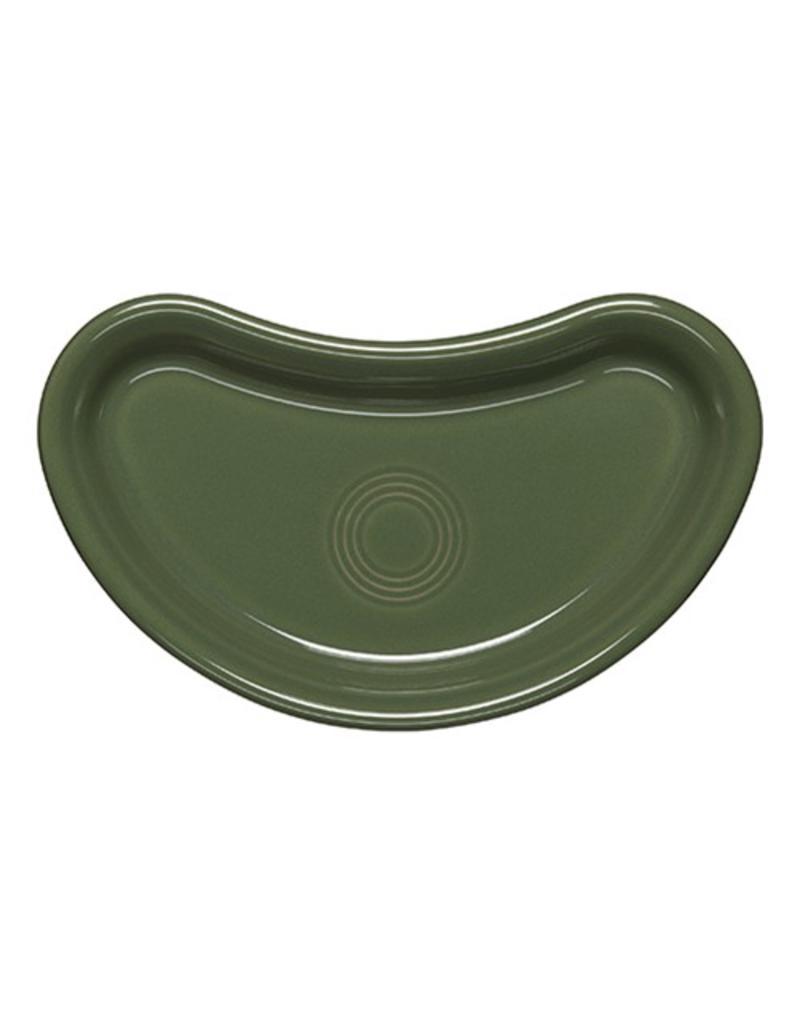 Individual Bistro Crescent Plate Sage