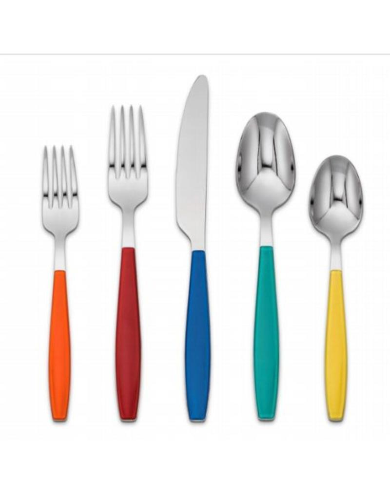 fiesta jamoboree 20 pc multi color flatware canton dish