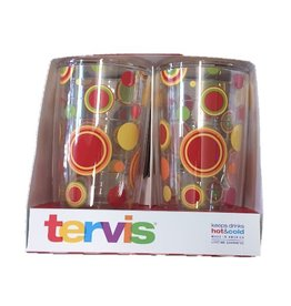 Tervis 4 Pack Sunny Dots 16 oz Tumblers