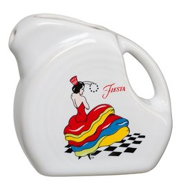 Mini Disc Pitcher 5 oz Dancing Lady