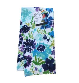 Fiesta® Cool Flower Kitchen Towel