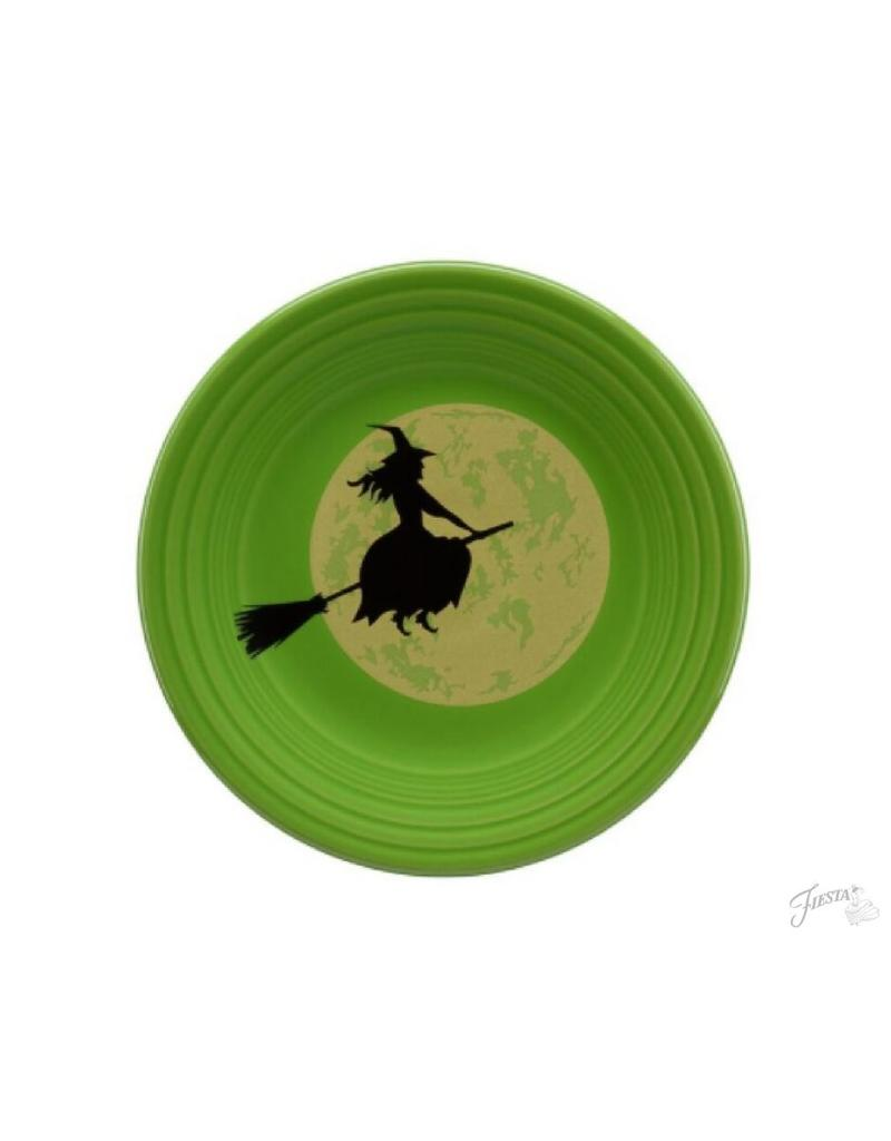 Luncheon Plate Halloween Harvest Moon Witch
