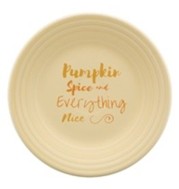 Luncheon Plate Halloween Pumpkin Spice