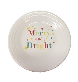 "Luncheon Plate 9""  Merry and Bright"