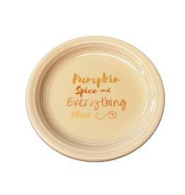 Appetizer Plate Halloween Pumpkin Spice