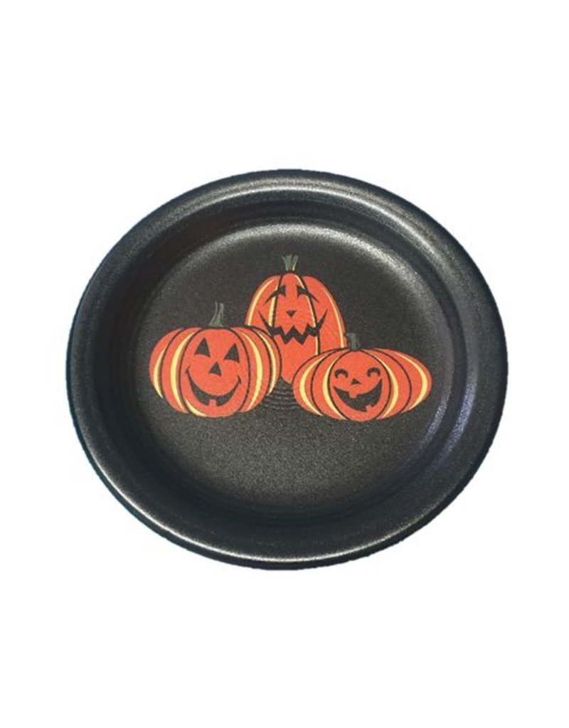 Appetizer Plate Halloween Happy Pumpkins