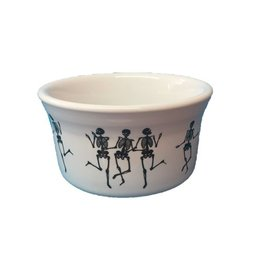 Ramekin 8 oz Halloween Skeleton Trio