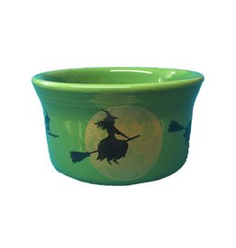 Ramekin 8 oz Halloween Harvest Moon Witch