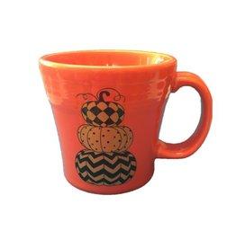 Tapered Mug Halloween Geo Pumpkin