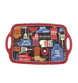 BBQ Bandit Rectangular Tray with Handles