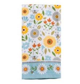 Garden Bee Terry Towel