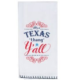 Texas Y'all Flour Sack Towel