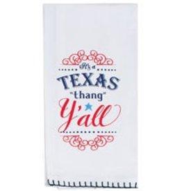Texas Y'all Flour Sack Towel