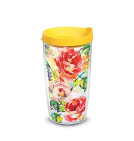 Tervis Rose Pattern 16 oz Tumbler with Lid