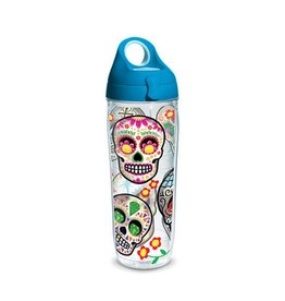Tervis Sugar Skulls 24 oz Water Bottle