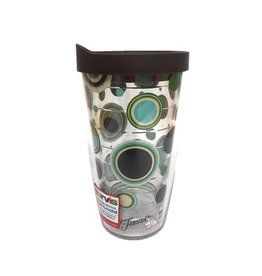 Tervis Cool Blue Dots 16 oz Tumbler w/lid