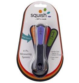 Squish Measuring Spoons 4 pc