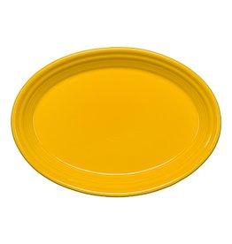"""Small Oval Platter 9 5/8"""" Daffodil"""