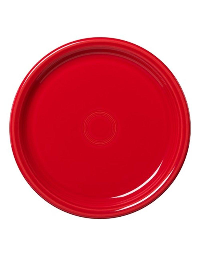 """Bistro Dinner Plate 10 1/2"""" Scarlet"""