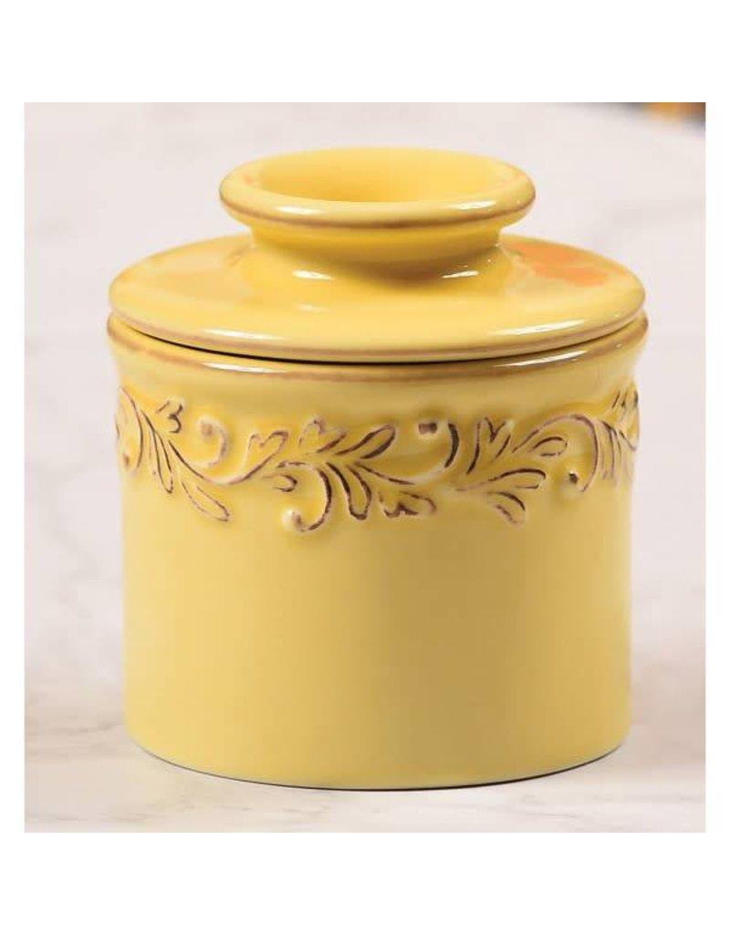 Butter Bell Crock Antique Goldenrod