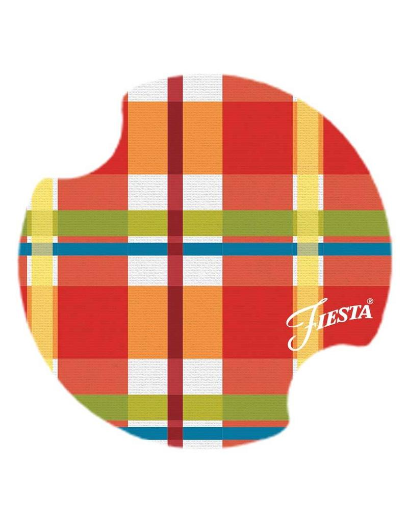 Fiesta® Plaid Carster set of 2