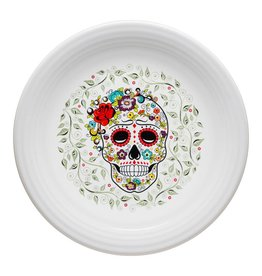 Sugar Skull and Vine Chop Plate