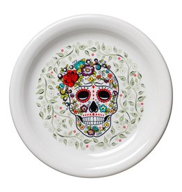 Sugar Skull and Vine Appetizer Plate
