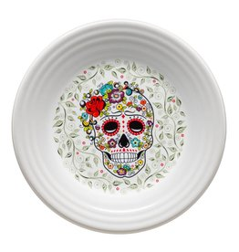Sugar Skull and Vine Luncheon Plate